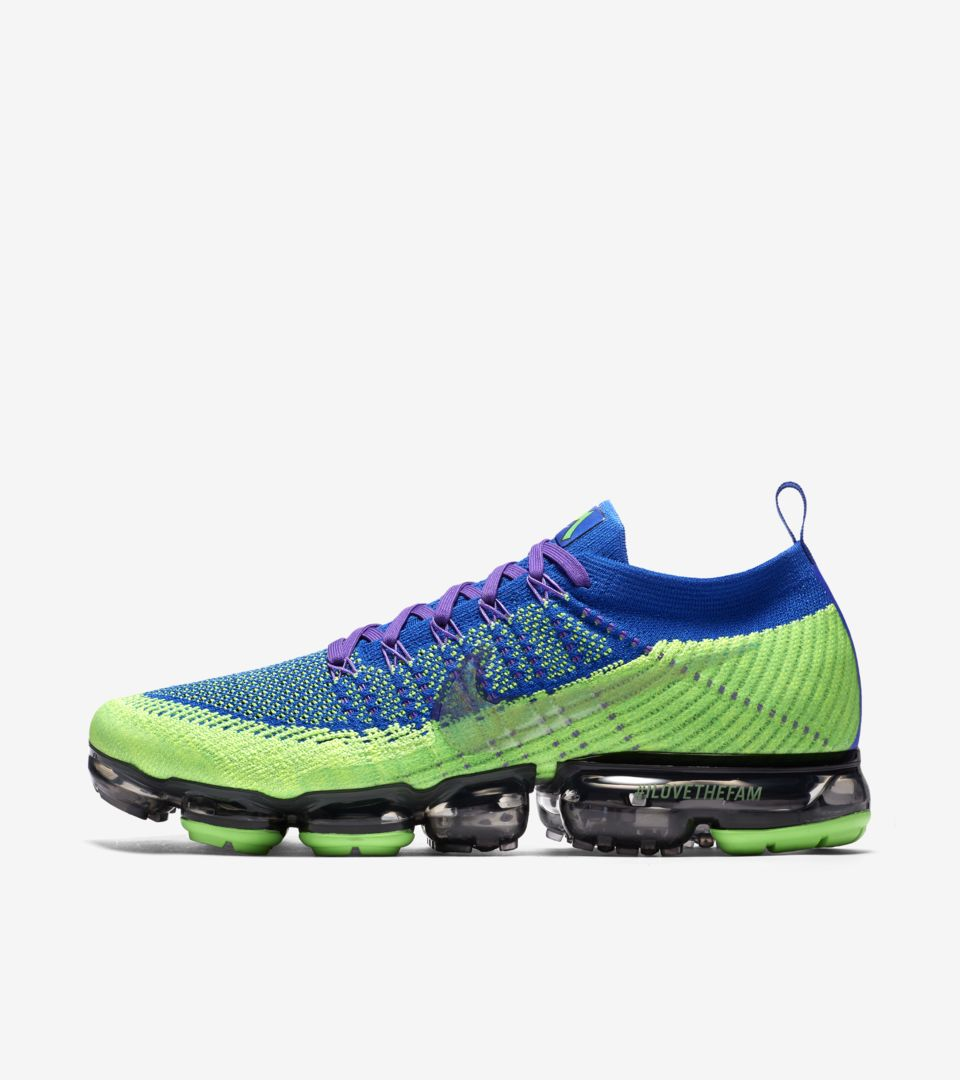 Strike amp; Nike 2017 Racer Air Vapormax Freestyle Doernbecher 'green wTF6qY