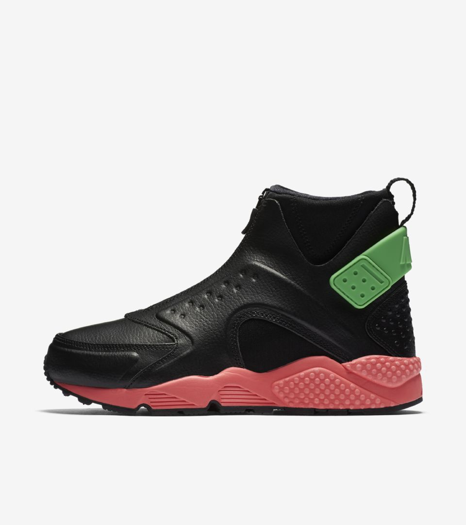 Mid Air 'black Punch' amp; Nike Women's Hot Premium Huarache Nike vqtw5