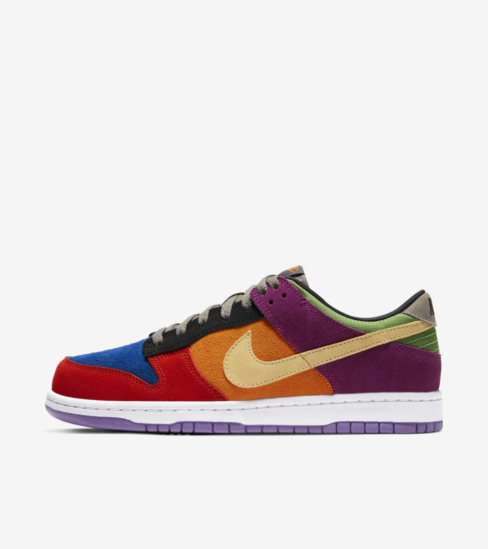 toma una foto comprador piso  Dunk Low 'Viotech' Release Date. Nike SNKRS MY