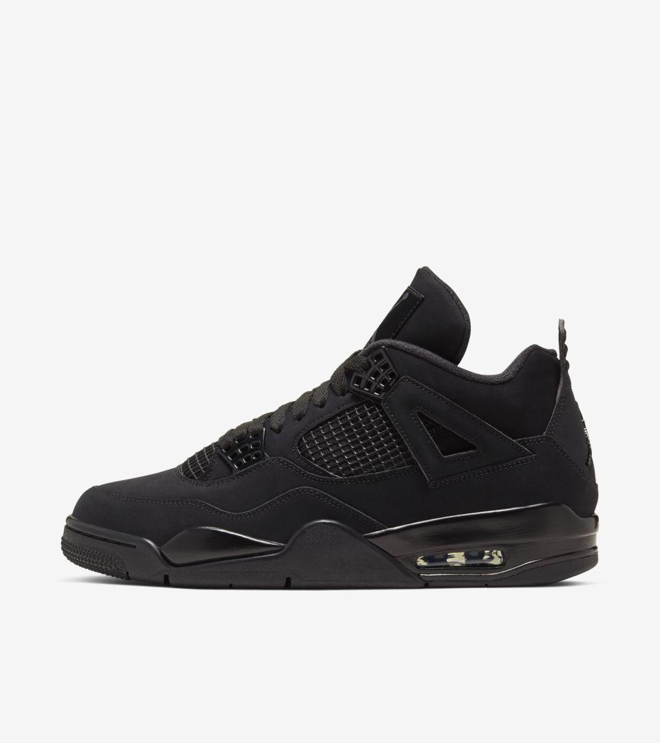 Air Jordan Iv Black Cat Release Date Nike Snkrs