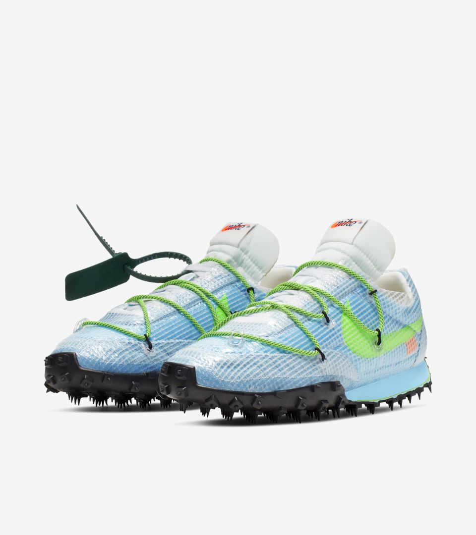 nike x off-white waffle racer pour femme