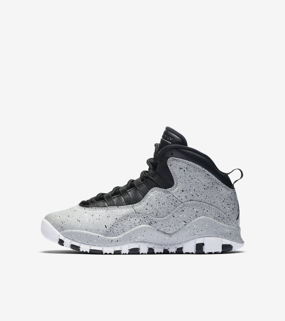 premium selection 083d0 6e9f1 AIR JORDAN X BG. LIGHT SMOKE GREY