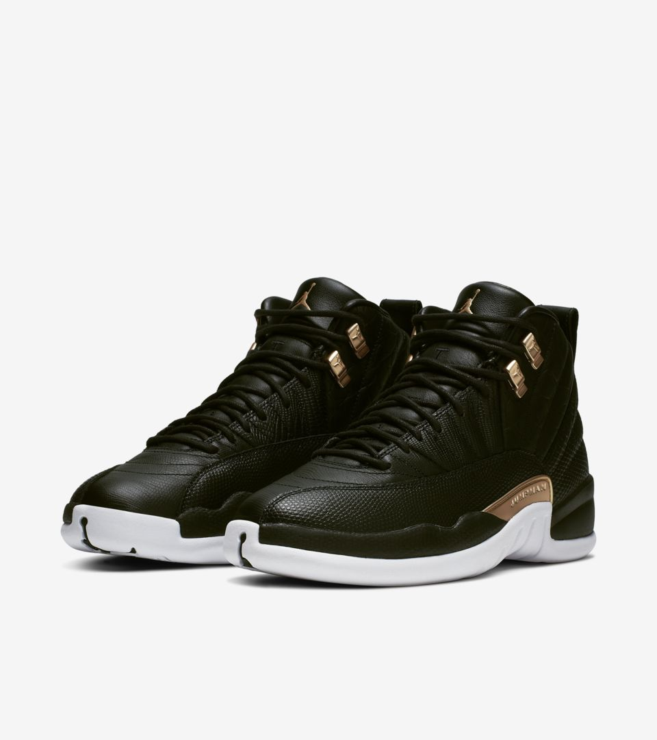 sports shoes 0464c dd125 Women's Air Jordan 12 'Midnight Black' Release Date. Nike⁠+ ...