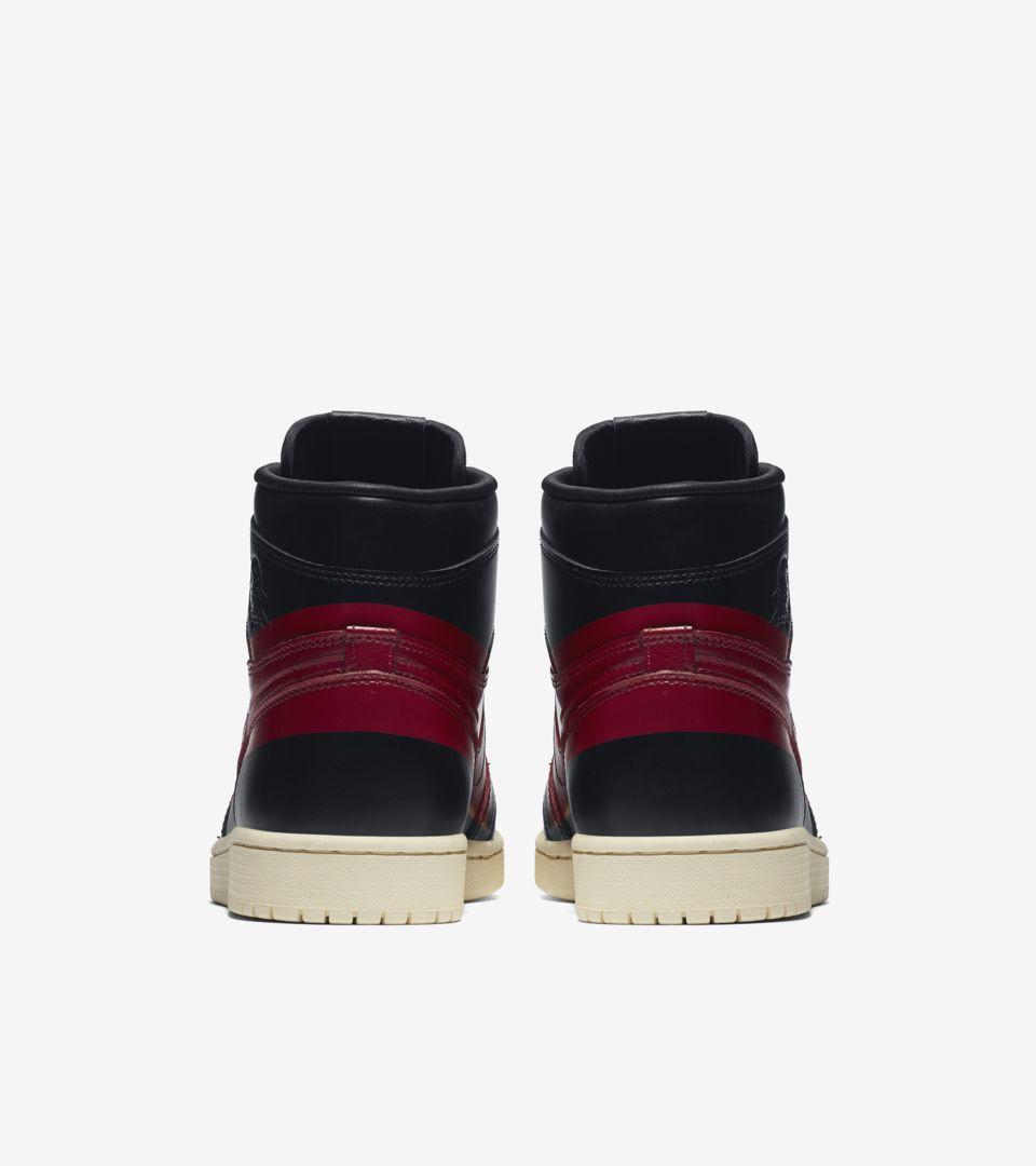 Air Jordan 1 High 'Black & Gym Red & Muslin' Release Date