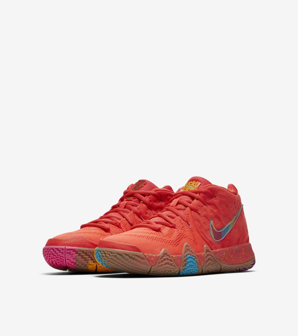 big sale 4f0e7 4fcf2 Nike Big Kids' Kyrie 4 'Lucky Charms' Release Date. Nike⁠+ SNKRS