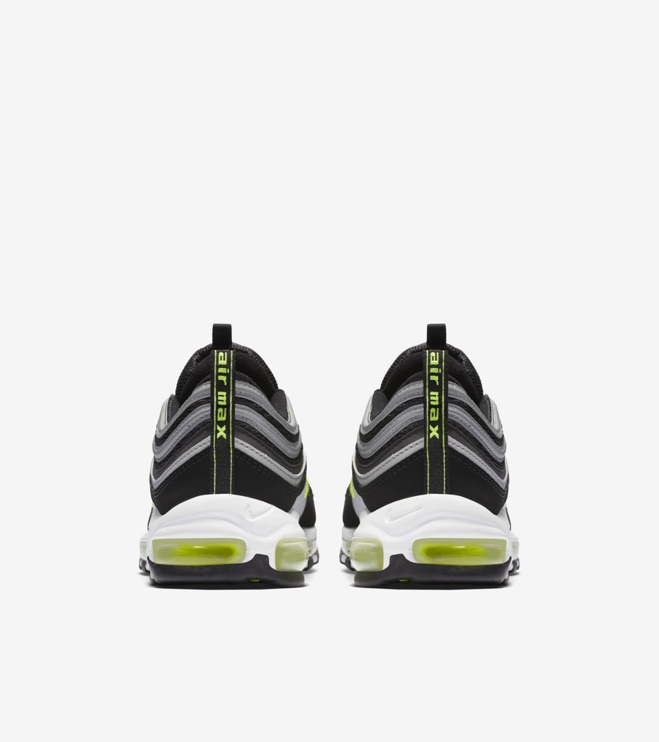 40d338035648 Nike Air Max 97  Black   Volt  Release Date. Nike⁠+ SNKRS