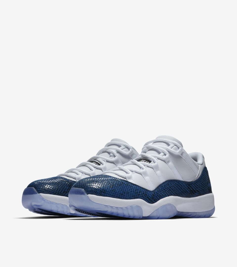 separation shoes 7f8e9 f0ad4 Air Jordan 11 Retro Low 'Navy' Release Date. Nike⁠+ SNKRS