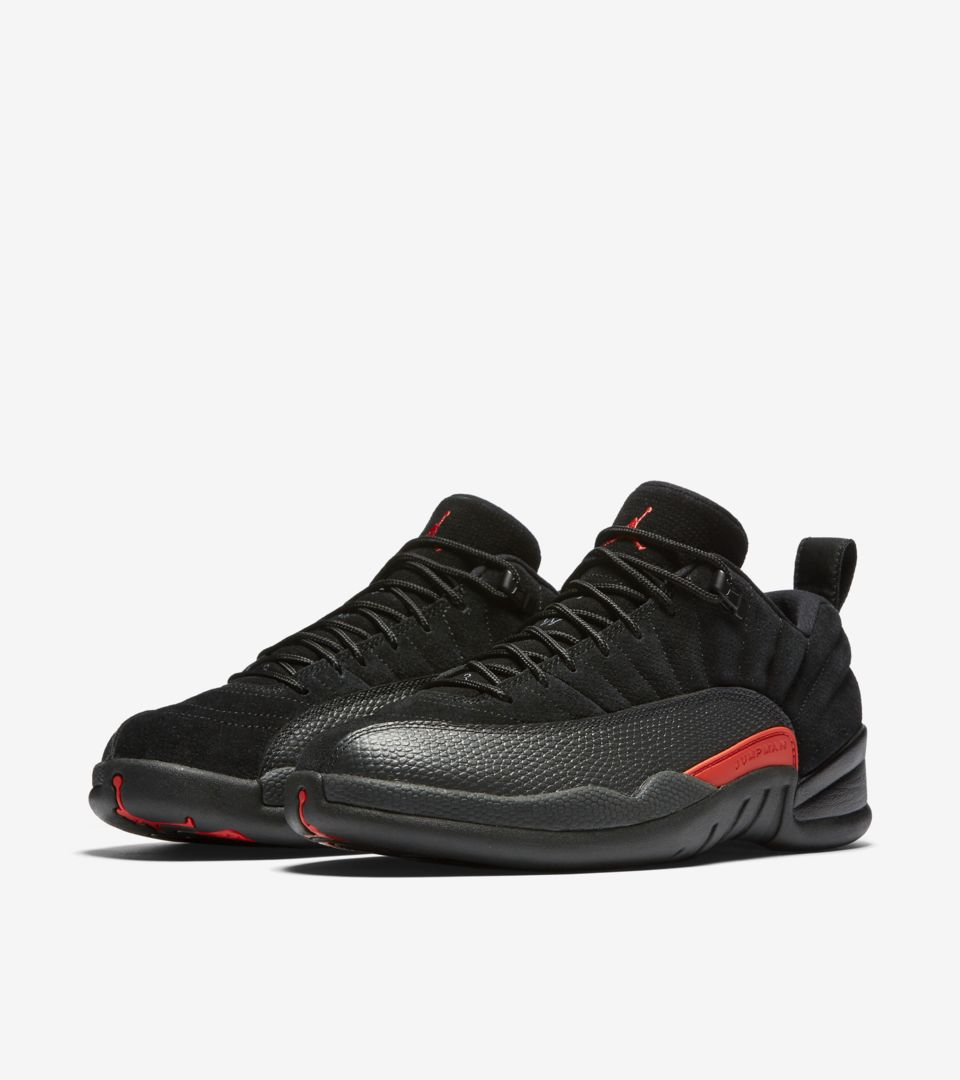lowest price 7a29e 6e5e7 Air Jordan 12 Retro Low 'Black & Max Orange'. Nike⁠+ SNKRS