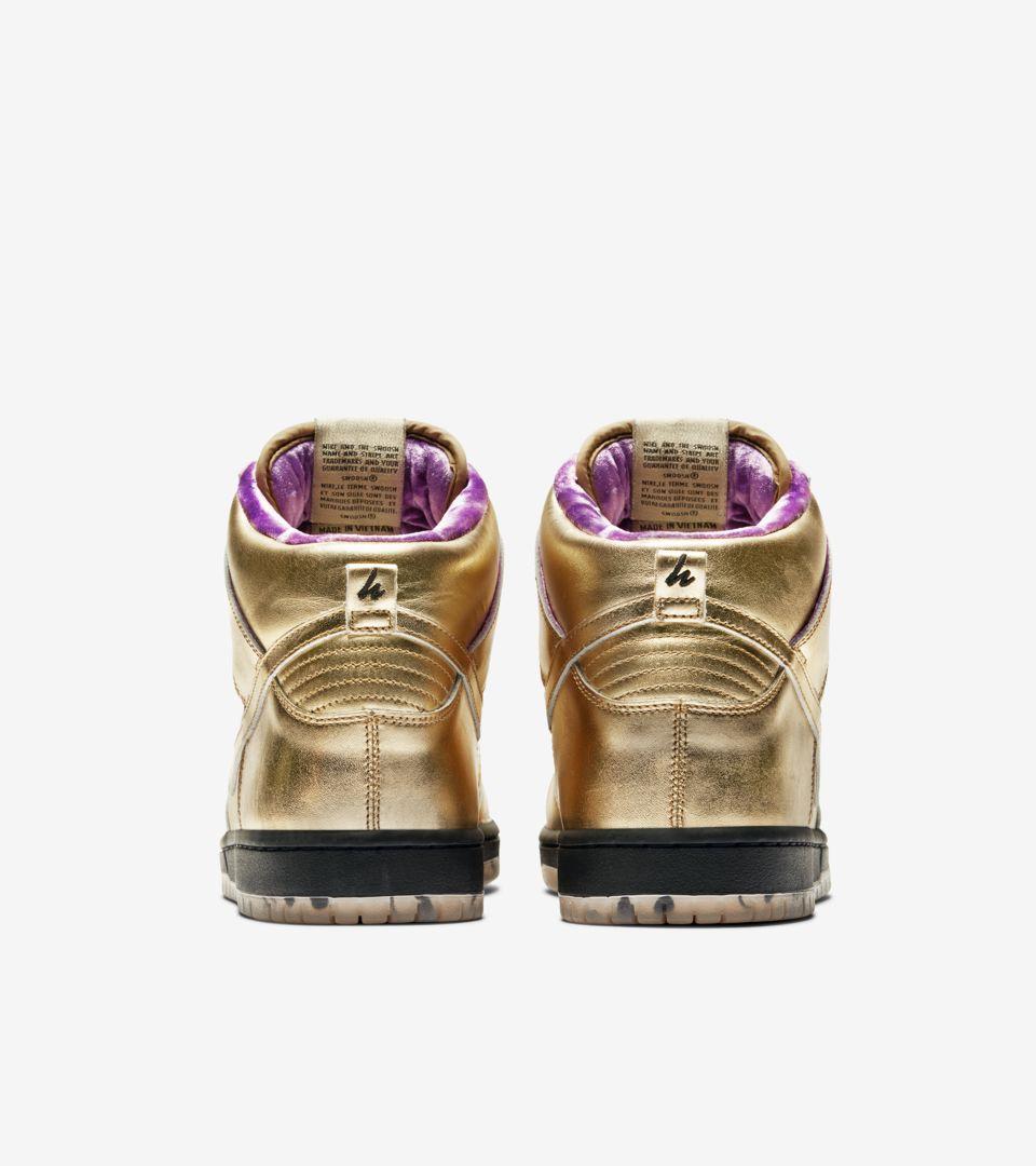 promo code 275a6 75b38 Nike SB Dunk High x Humidity 'Metallic Gold' Release Date.. Nike+ SNKRS