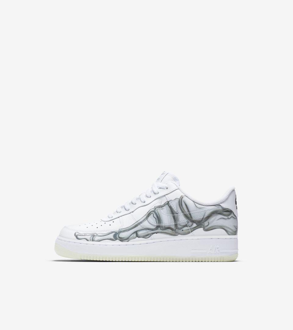 Nike Air Force 1 Skeletal Force 'White' Release Date