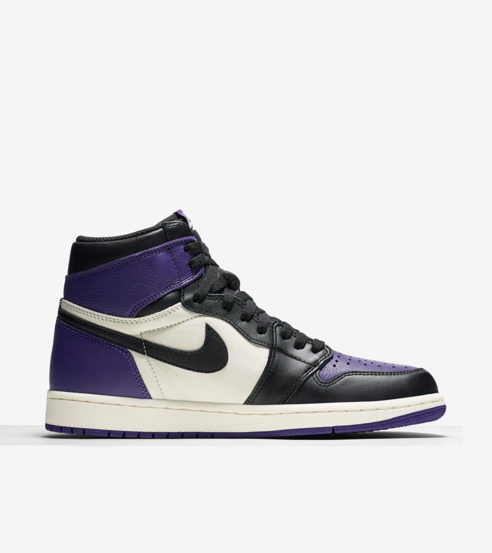 Air Jordan 1 Retro  Court Purple  Release Date. Nike+ SNKRS 523bab313