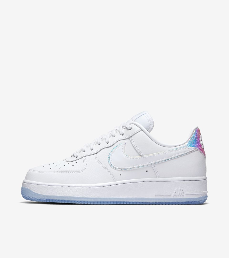 Women s Nike Air Force 1 Low  Blue Tint . Nike⁠+ SNKRS 13f9ca4795