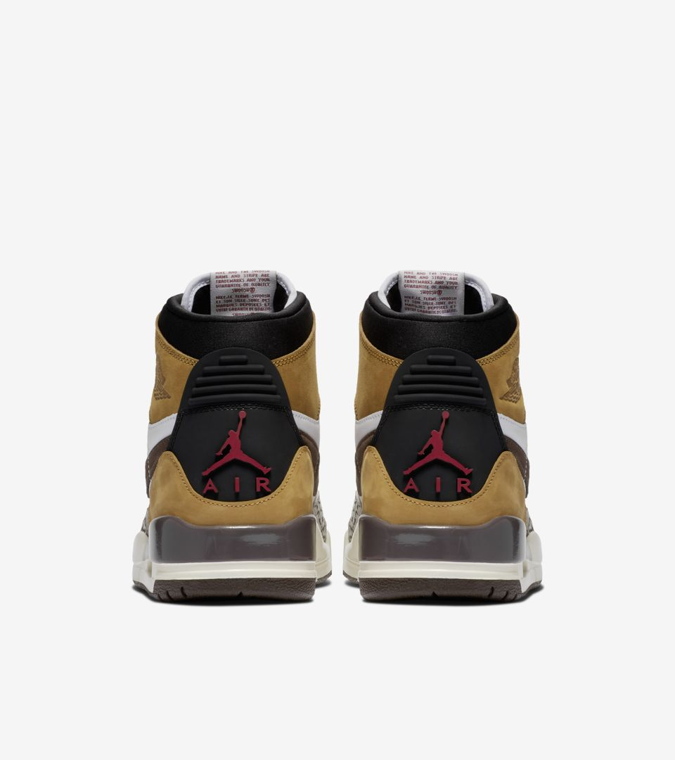 Air Jordan Legacy 312 'Wheat & Varsity Red' Release Date