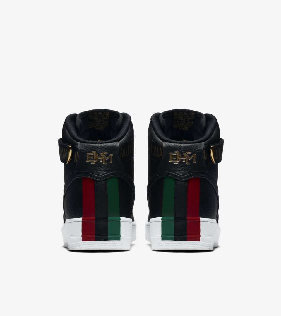 premium selection 922f4 88cc9 Nike Air Force 1 High 'BHM' 2018 Release Date. Nike+ SNKRS