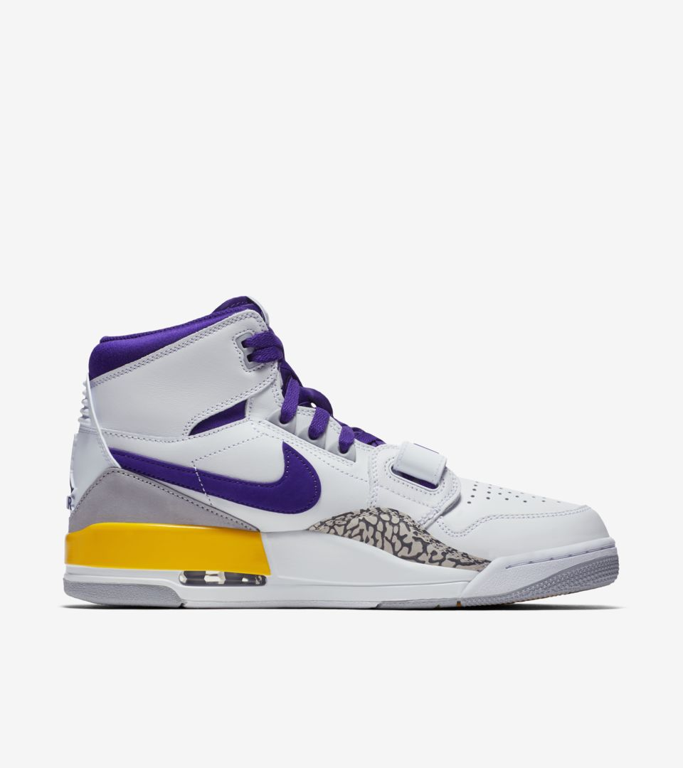 eef0d632cab222 Air Jordan Legacy 312  Field Purple   Amarillo   White  Release Date ...