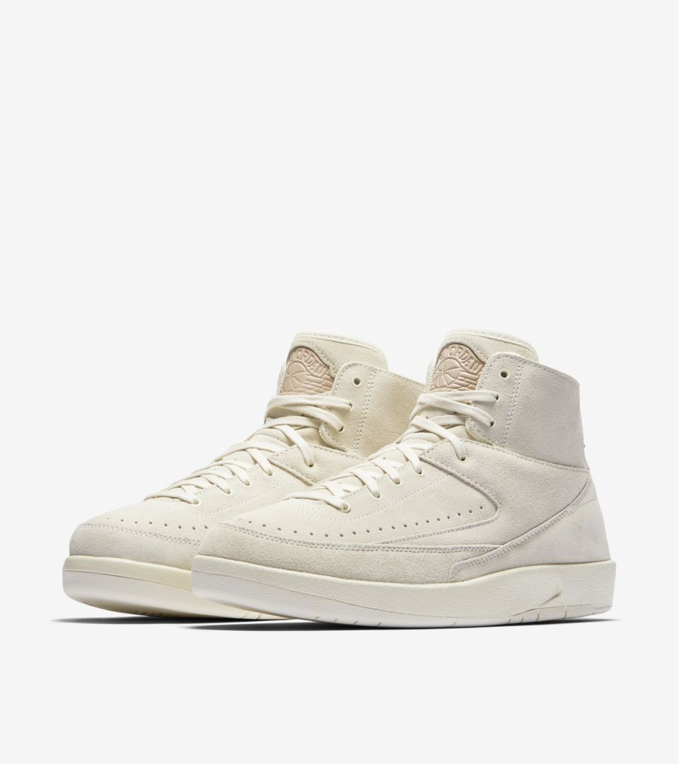 best sneakers 57cc5 04606 Air Jordan 2 Retro Decon 'Sail' Release Date. Nike⁠+ SNKRS