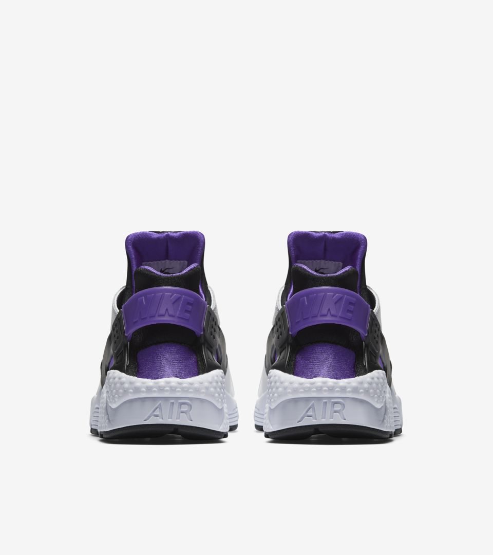 newest 2a26c 24b51 Nike Air Huarache Run '91 'White & Purple Punch' Release ...