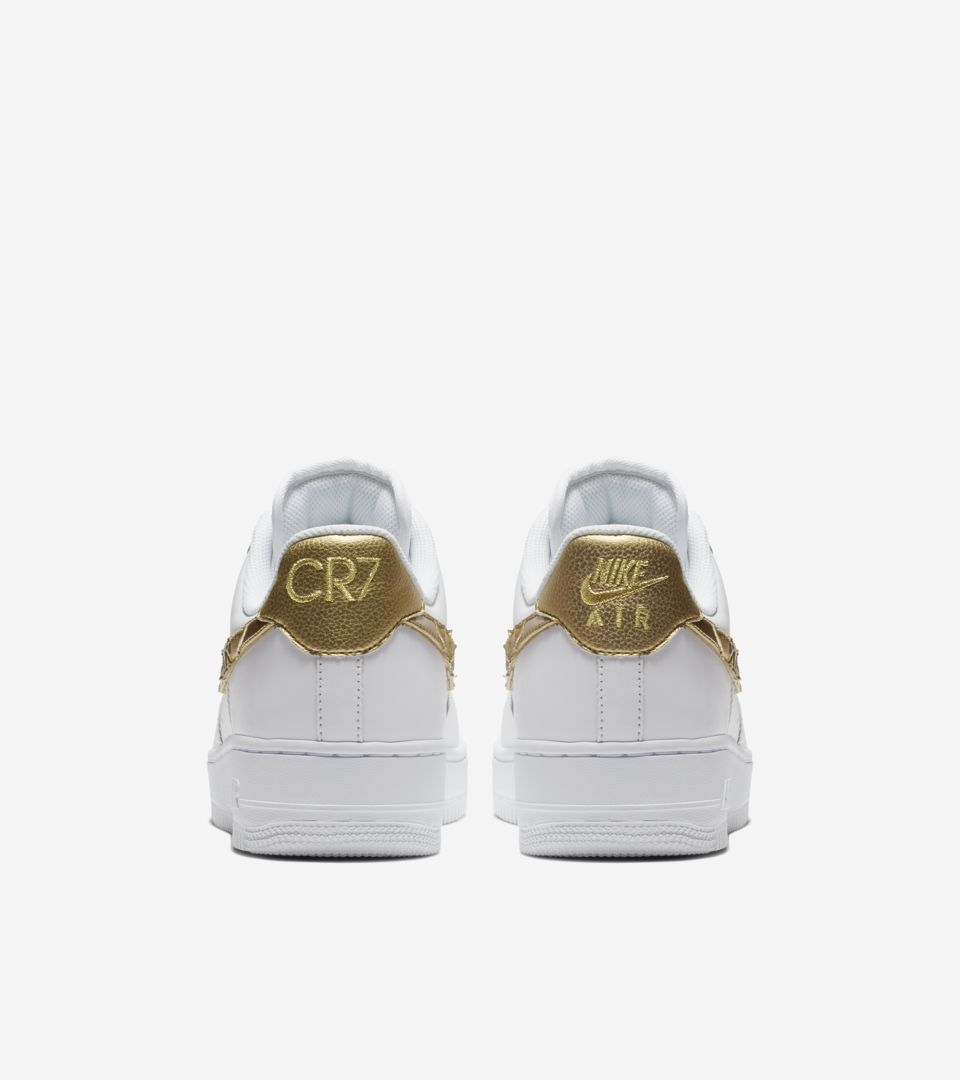 ebc6b91940 Nike Air Force 1 CR7 'Golden Patchwork' Release Date. Nike+ Launch GB