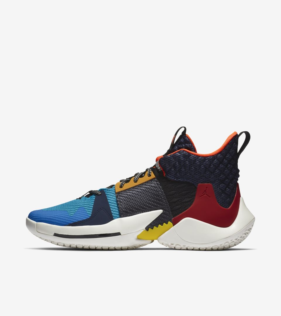 Jordan Why Not Zer0.2 PF 'Multicolor & Sail & Total Crimson' Release Date