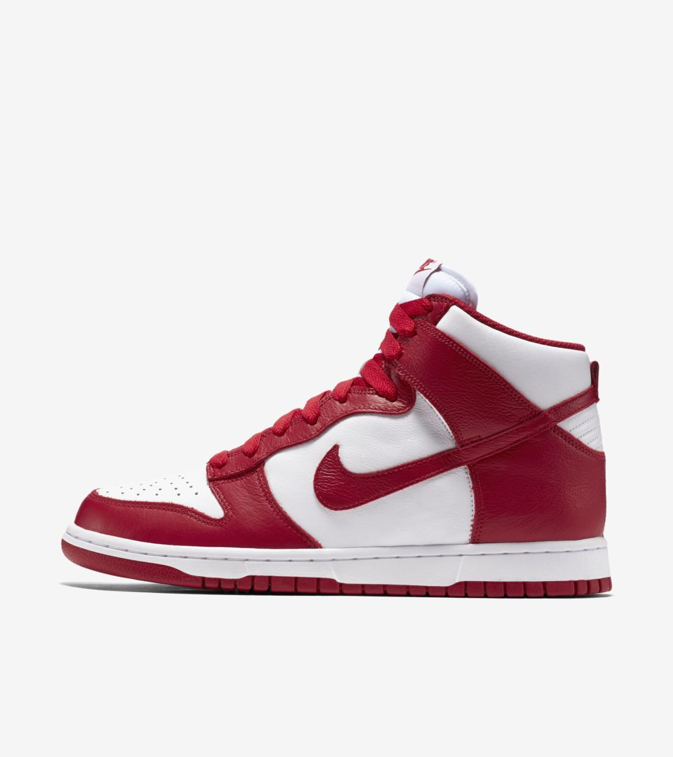 Nike Dunk College Colors 'Red \u0026 White
