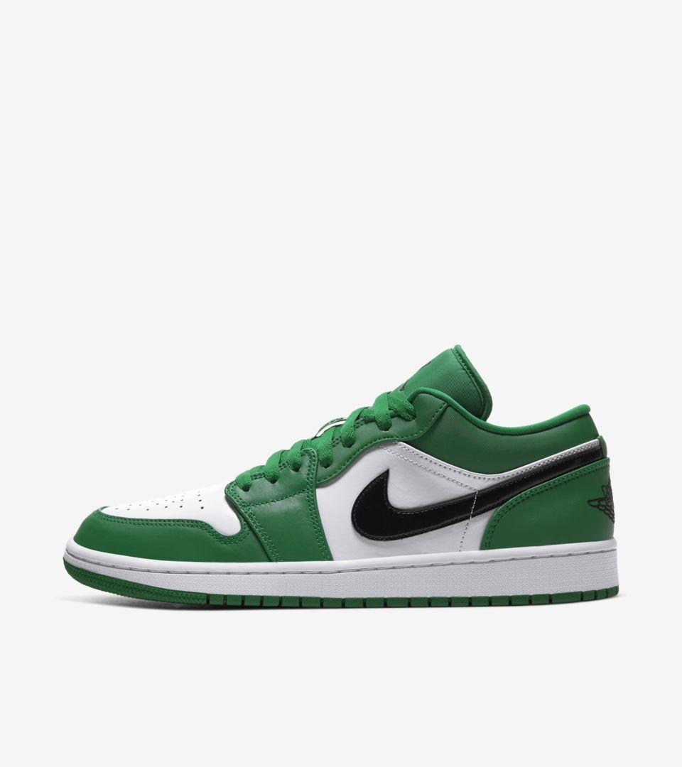 Air Jordan 1 Low 'Pine Green' Release