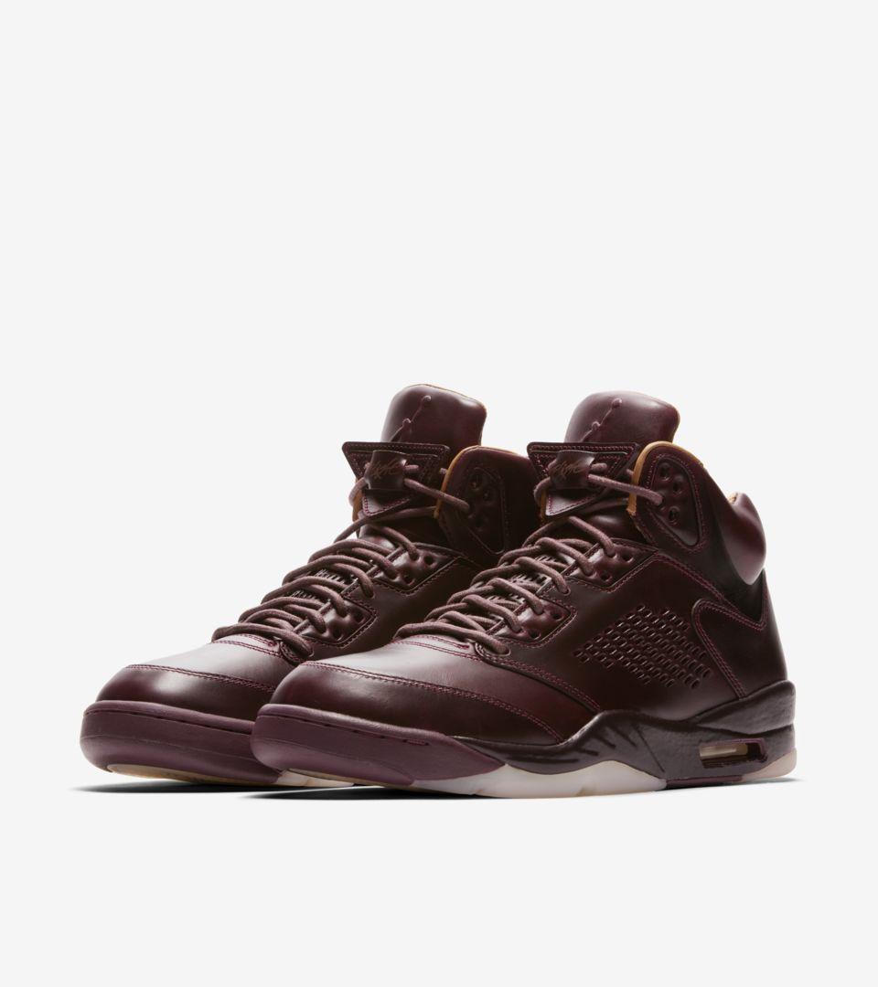 cheap for discount 2209f 2d1ea Air Jordan 5 Retro Premium 'Bordeaux' Release Date. Nike+ SNKRS