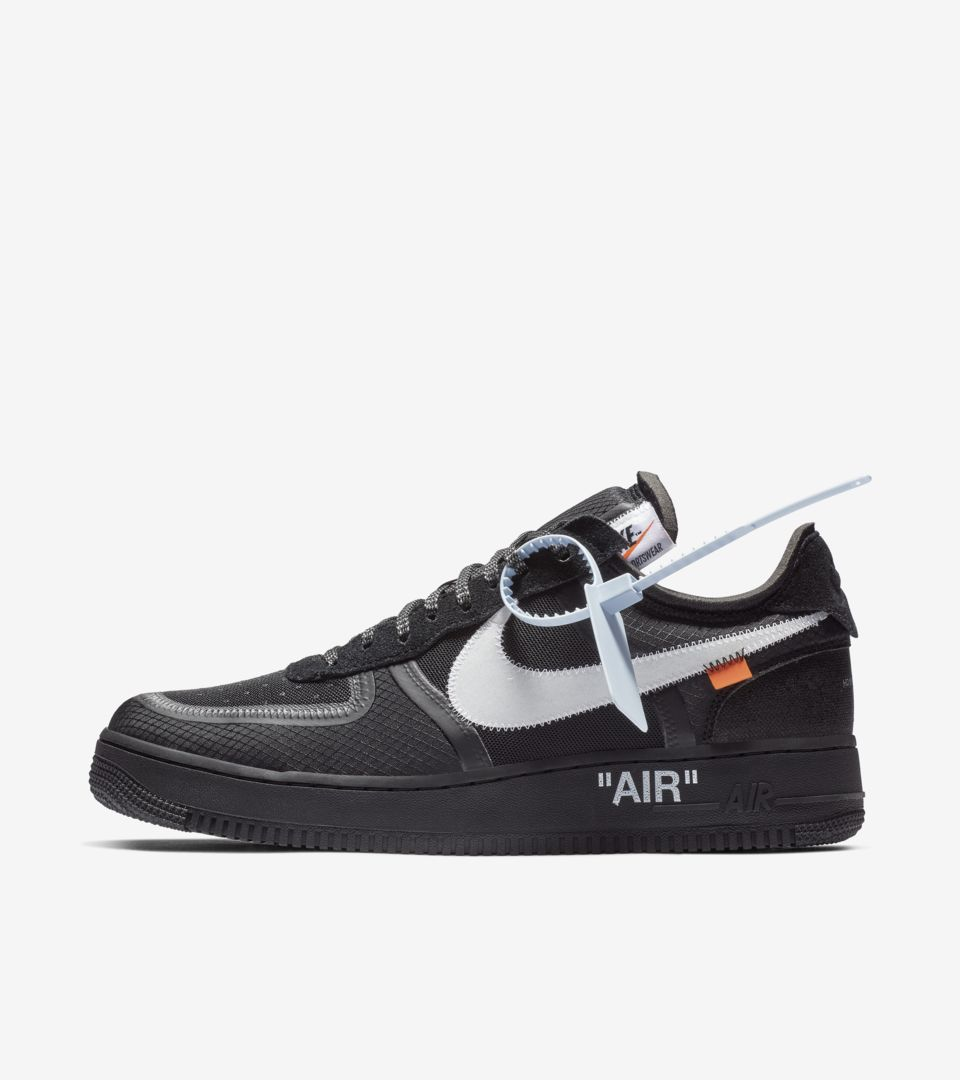 huge discount 6da84 431f3 ... The 10  Nike Air Force 1 Low  Black   Cone   White  ...