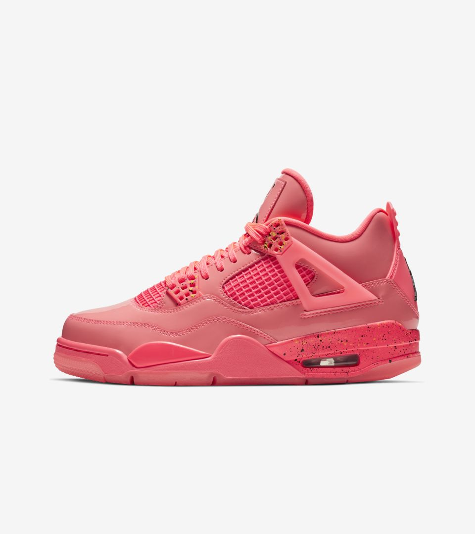 d39fefdef4cd Women s Air Jordan 4  Hot Punch   Volt   Black  Release Date. Nike⁠+ ...