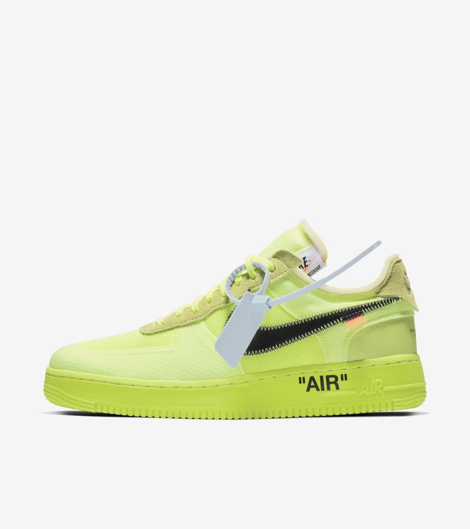 low priced 1f71c 03fc6 ... The Ten Nike Air Force 1 Low Volt  Black  Hyper Jade ...