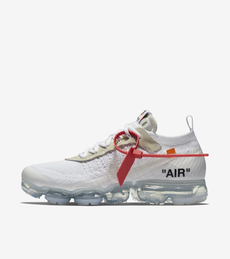 Nike The Ten Air Vapormax Off-White 'White' Release Date ...