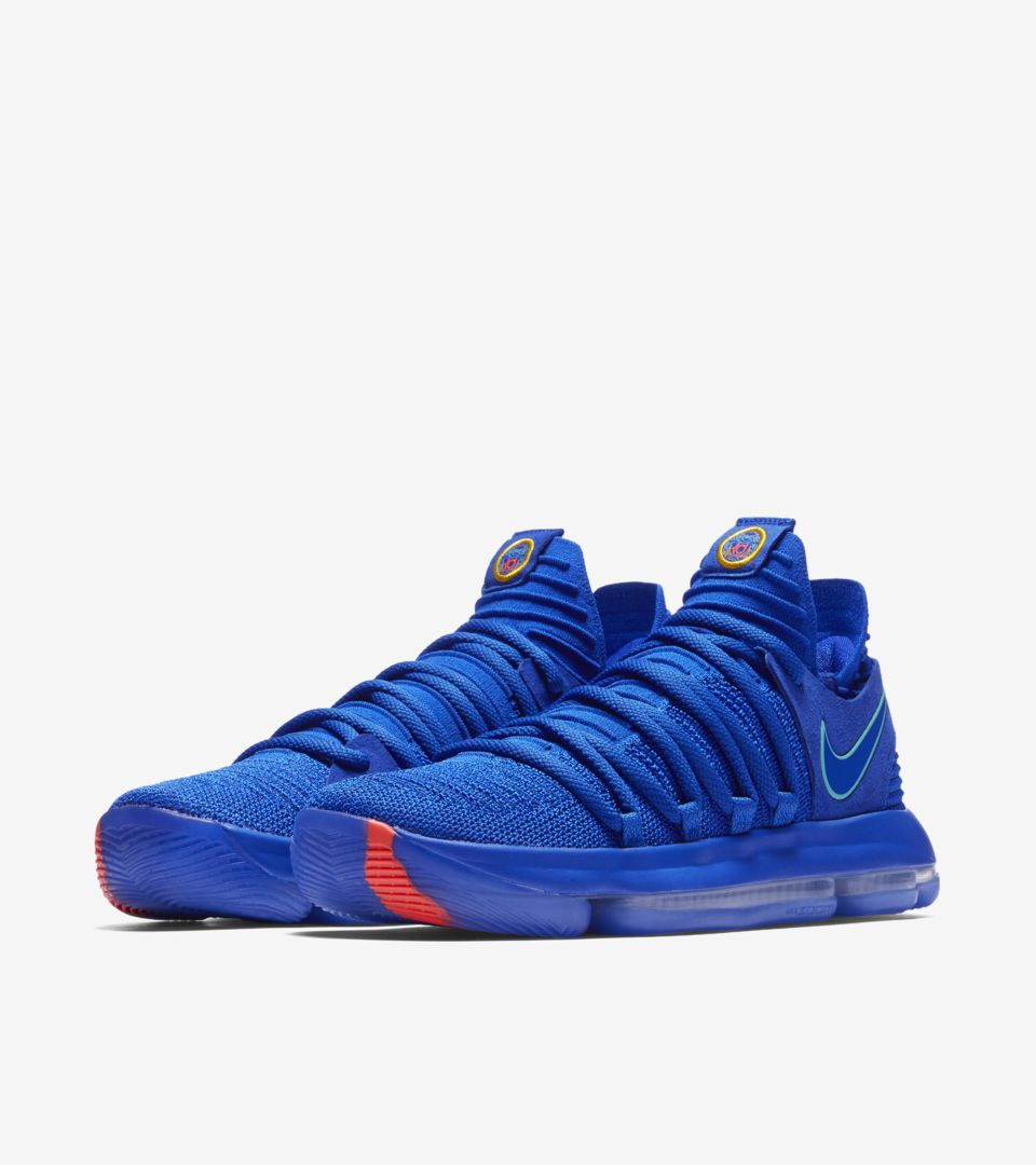 buy popular e6e10 a3a9a Nike Zoom KD10 'Racer Blue & Light Menta' Release Date. Nike ...