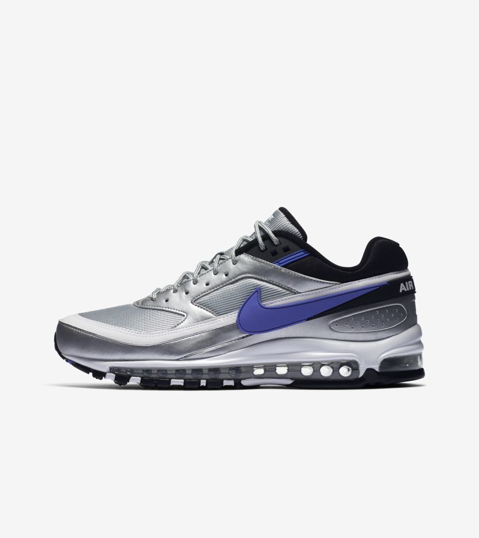 BUY Nike Air Max 97 BW Metallic Silver Persian Violet