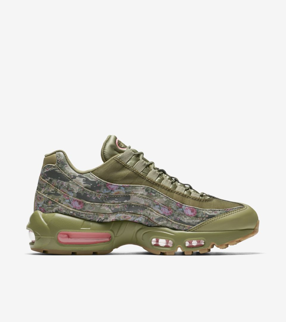 ec50b3db7b Women's Nike Air Max 95 'Neutral Olive & Arctic Punch' Release Date ...