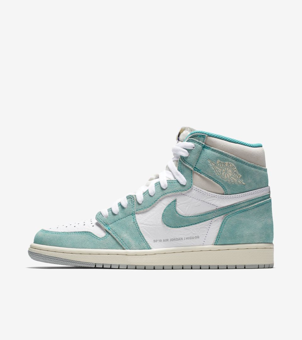 buy popular 2aed3 db0f3 Date de sortie de la Air Jordan 1 « Turbo Green  amp  White  amp ...