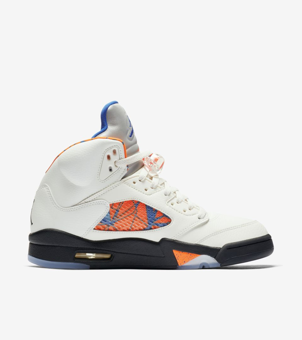 huge discount c6592 51738 ... Air Jordan 5 Retro  Sail   Racer Blue  ...