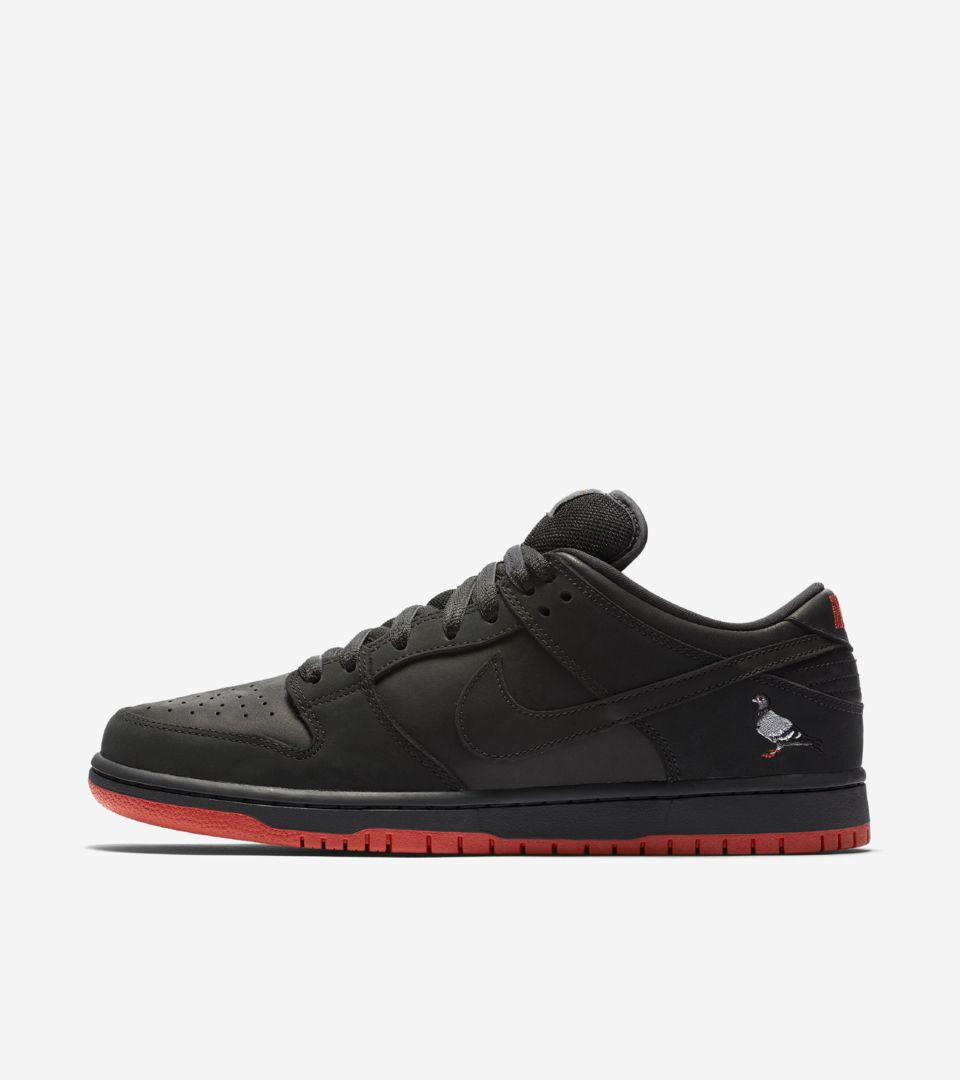 on sale c6846 4e609 Nike SB Dunk Low Pro 'Black Pigeon' Release Date. Nike⁠+ SNKRS