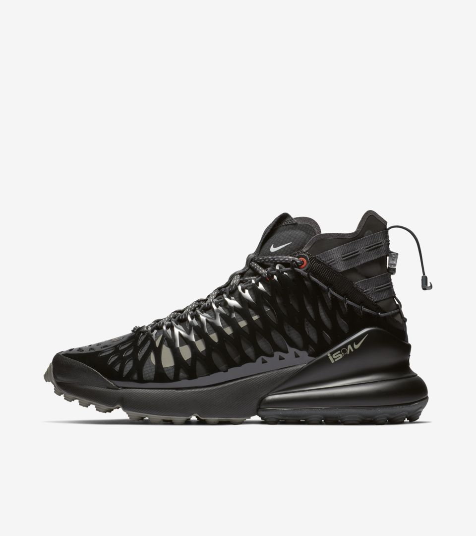 Nike Air Max 270 ISPA 'Black & Dark Stucco & Anthracite' Release Date
