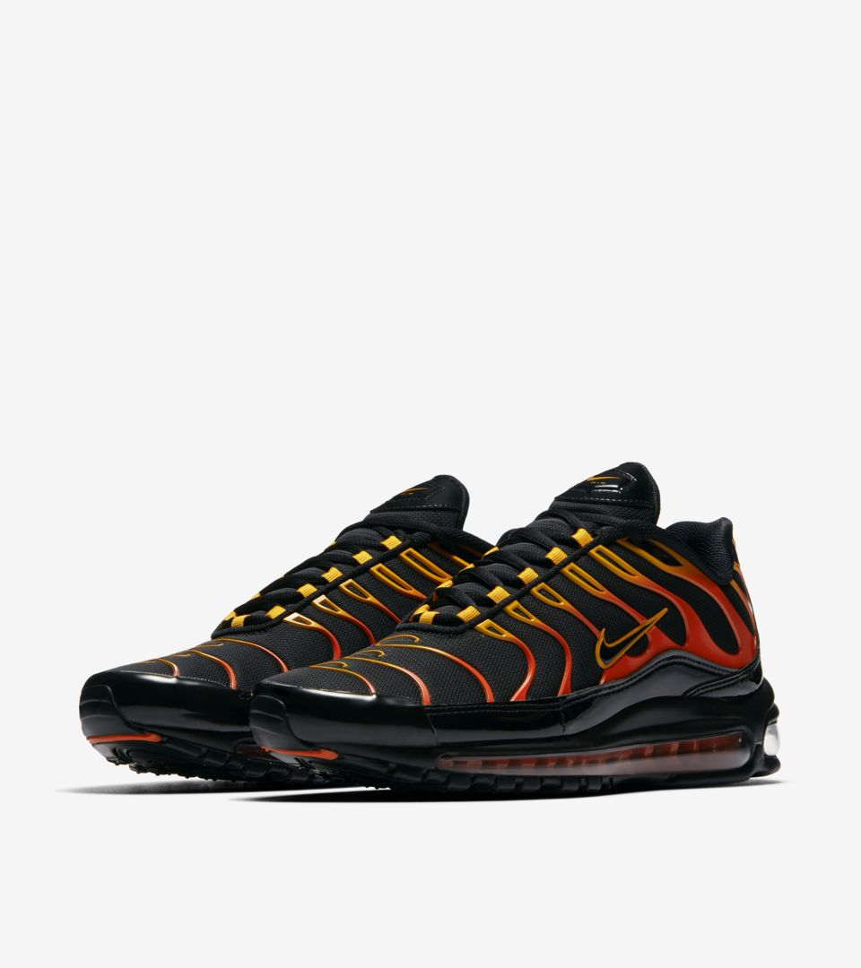 more photos 22ab1 e1525 Nike Air Max 97 / Plus 'Shock Orange & Black' Release Date ...