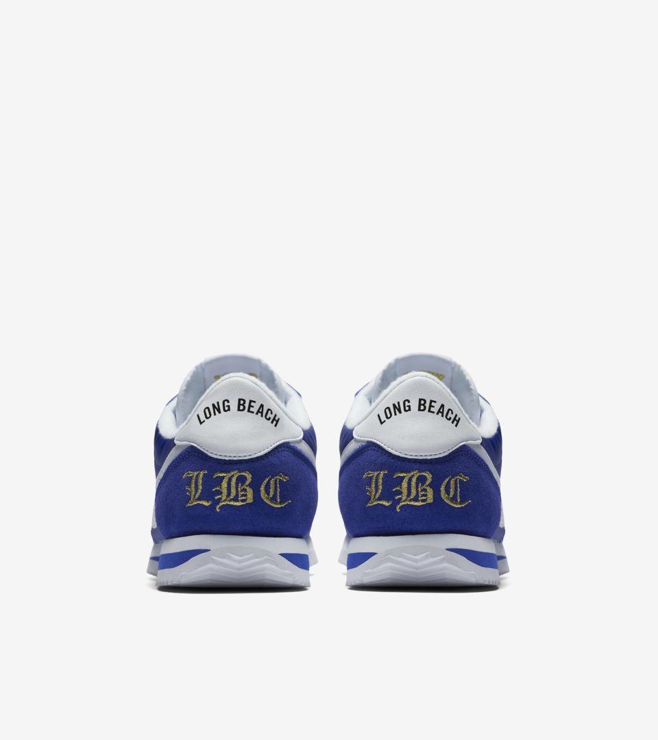 9fab219128c725 Nike Cortez Basic Nylon  Long Beach  Release Date. Nike+ SNKRS