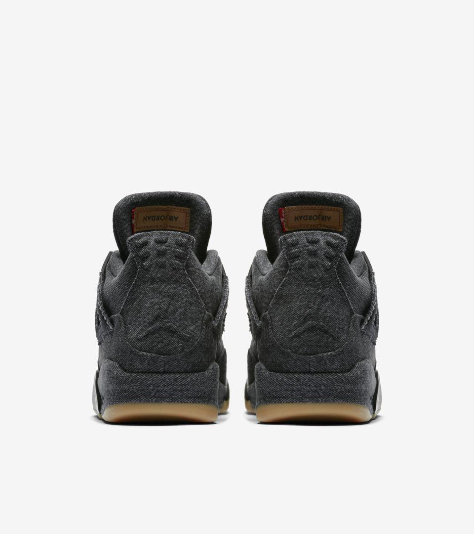 Air Jordan 4 Levis 'Triple Black' Release Date