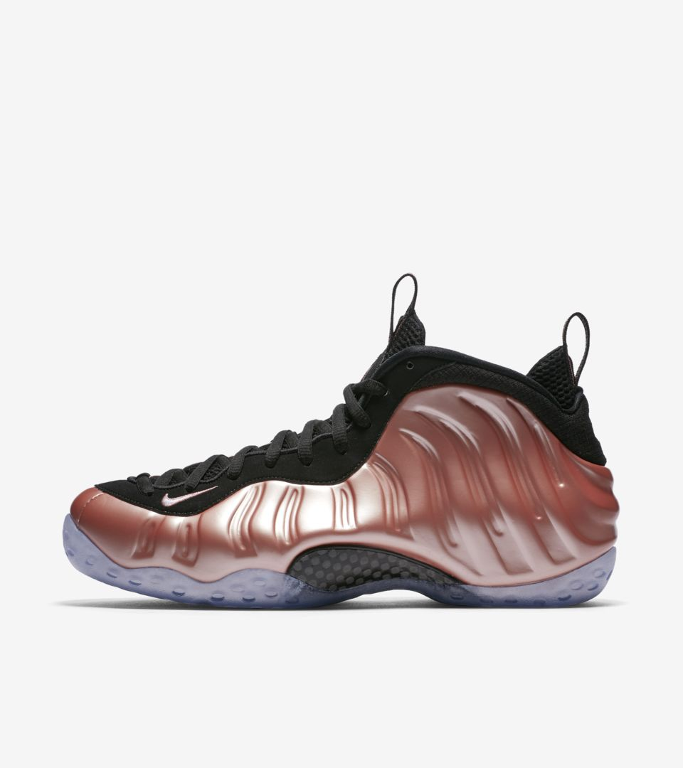 Nike Air Foamposite OneRed Suede KicksOnFire.com