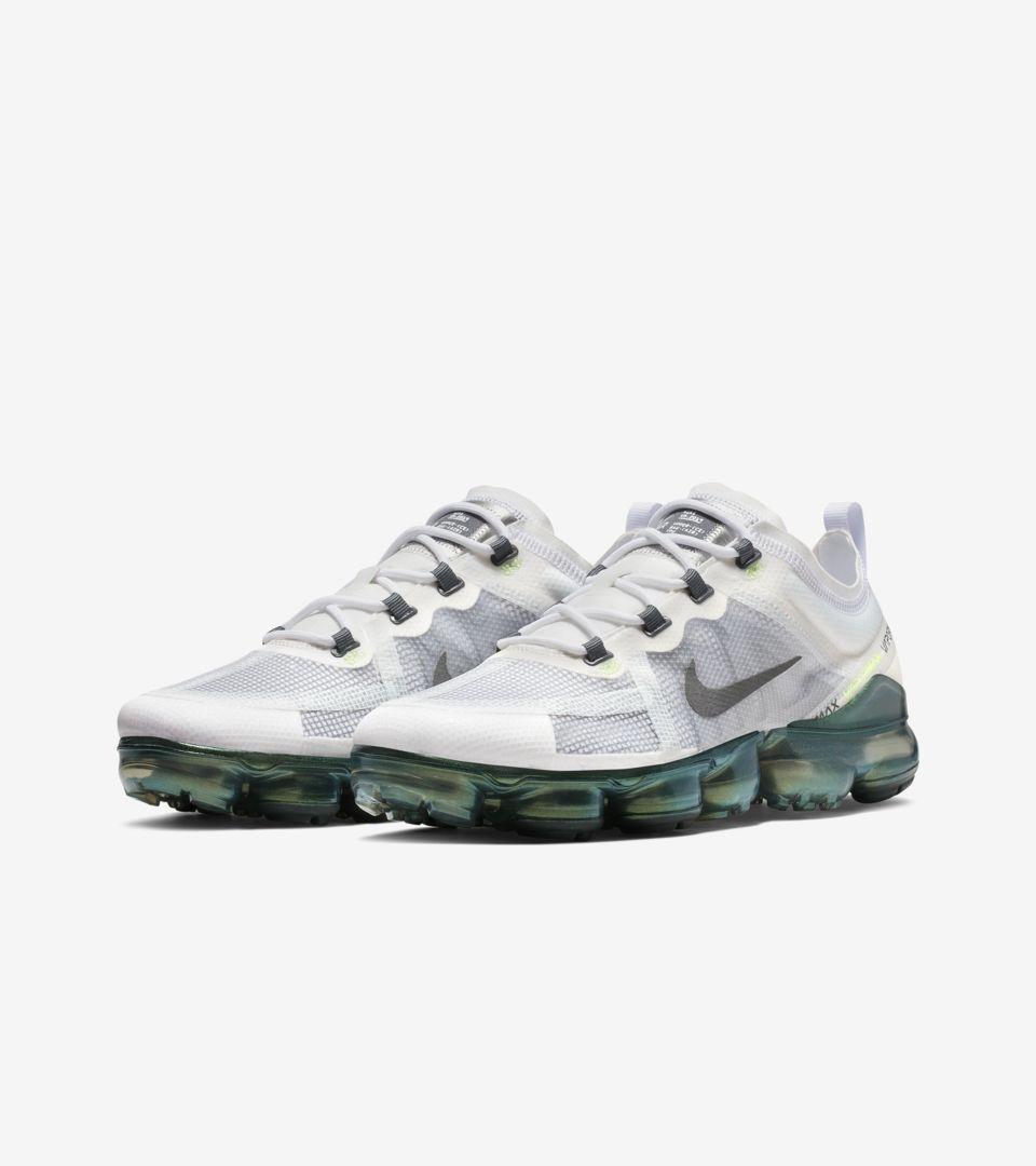 the latest 6774c 3d51f ... Nike Air Vapormax 2019  Premium White   Platinum Tint  ...