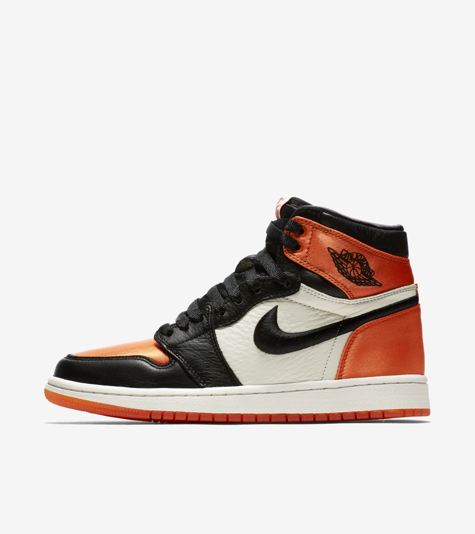 air jordan 1 femme orange