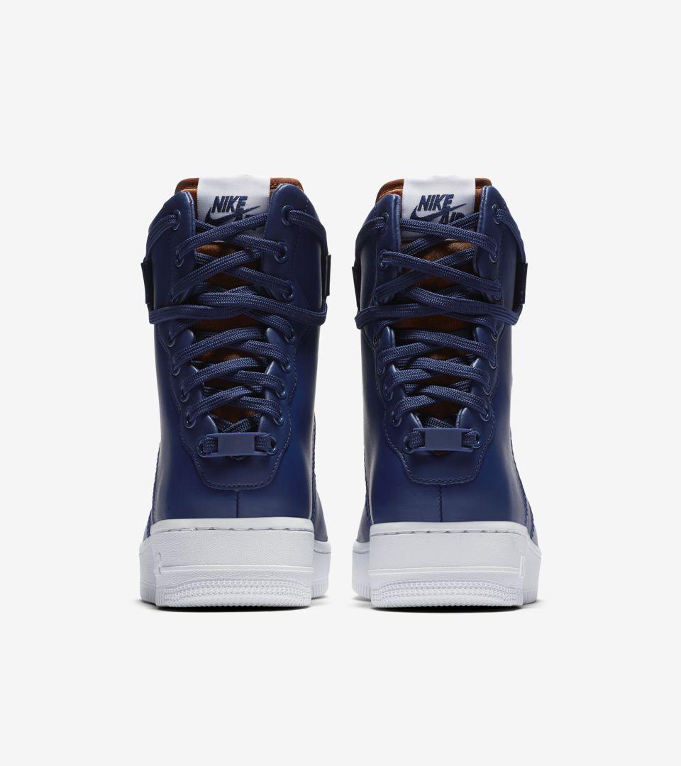 845f82e836 ... WMNS AF1 Rebel XX 'Blue Void & White Blue & Void Dark & Russet' ...