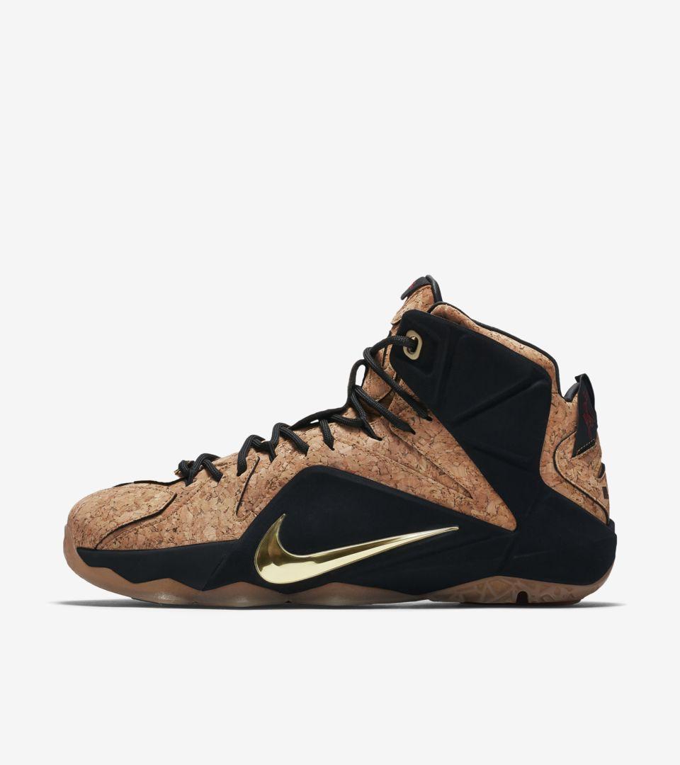 new styles 4964f c24ea Nike LeBron 12 EXT Kings  Cork . Nike+ SNKRS