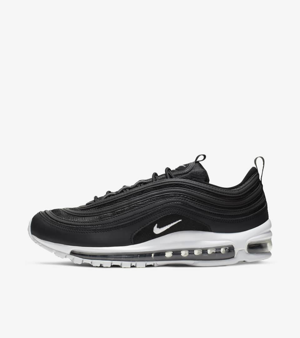 Nike Air Max 97  Black   White  Release Date. Nike⁠+ SNKRS b6dffc56a