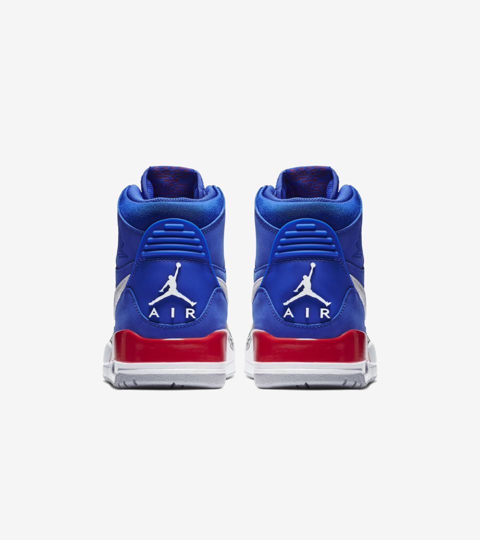 Air Jordan Legacy 312 'Bright Blue & University Red & White' Release Date
