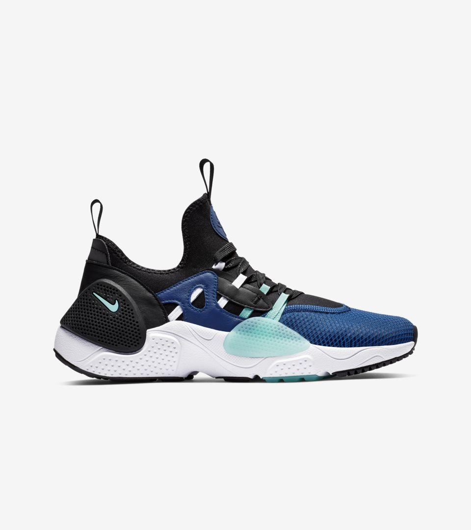 8a94d596608a Nike Huarache E.D.G.E. TXT HA  Indigo Force   Black   White  Release ...