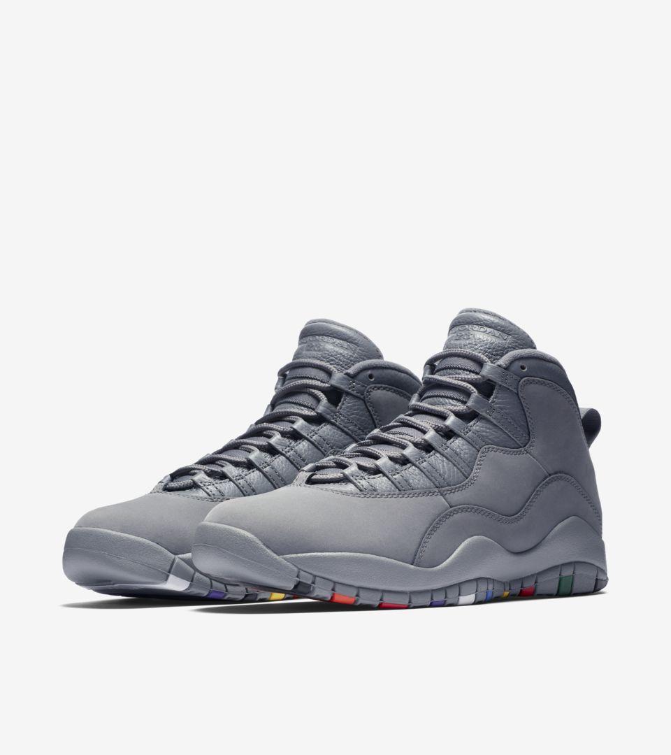 san francisco 54080 5f20e Air Jordan 10 'Cool Grey' Release Date. Nike+ SNKRS