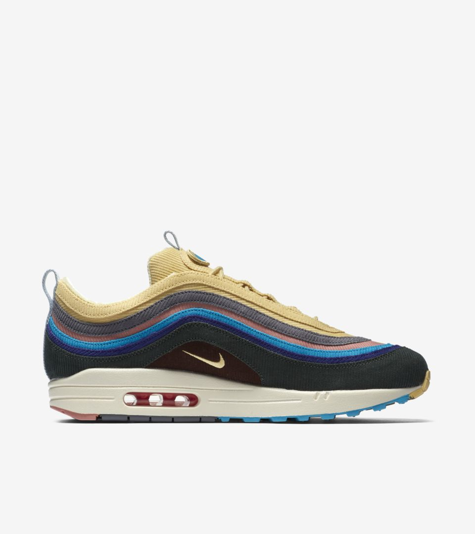 new design uk availability picked up Nike Air Max 1/97 'Sean Wotherspoon' Release Date. Nike SNKRS